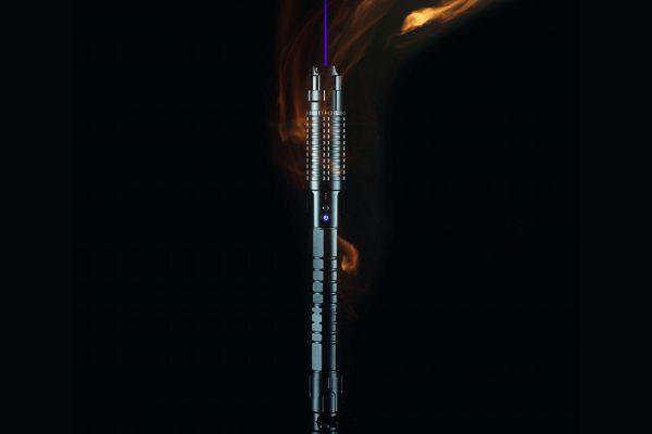 blauer Laser-Pointer